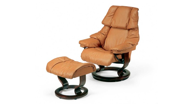 Ekornes Stressless Reno Small Leather Recliner Chair Reside