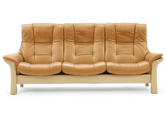 ekornes stressless buckingham leather sofa reside furnishings