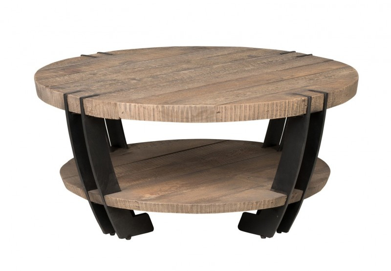 Marcelo Solid Pine Wood Coffee Table Reside Furnishings