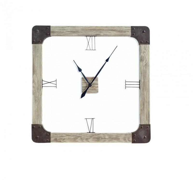 Solid Wood Clock Mercana