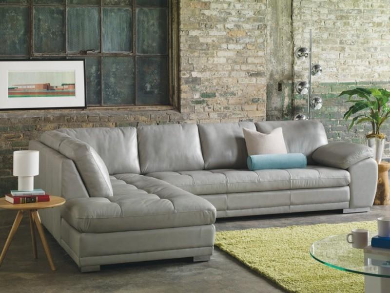 Palliser Kelowna Leather Sectional Sofa Reside Furnishings