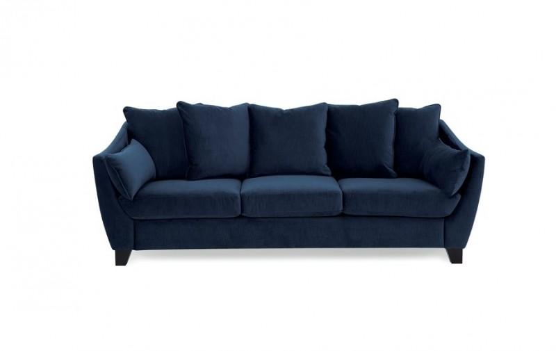 Palliser Leaf Sofa Fabric Couch Loose Back Cushions