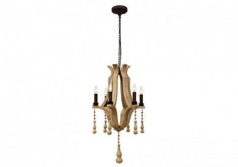 "19"" Orchid Chandelier"