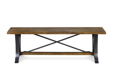 River Ridge Solid Wood Bench