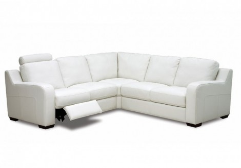 Palliser Embrace Recliner Leather Sectional Sofa