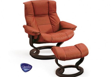 Ekornes Stressless Mayfair Medium Leather Recliner