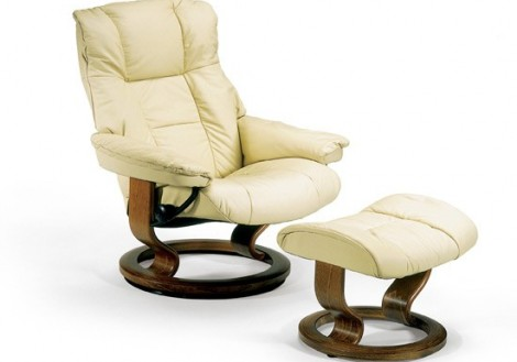 Ekornes Stressless Mayfair Small Leather Recliner