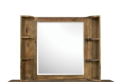 Braxton Mirror w/ Shelves