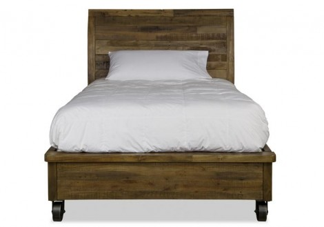Braxton Twin Bed with Castors
