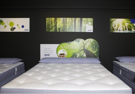 Sprout Luxuria Queen Size Environmentally-Friendly Natural Mattress