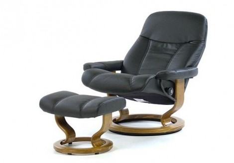 Ekornes Stressless Consul Large Leather Recliner