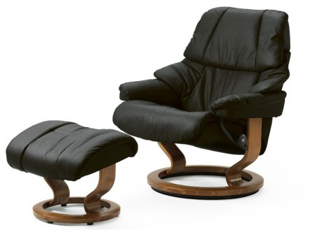 Reno Medium Leather Recliner - Ekornes Stressless
