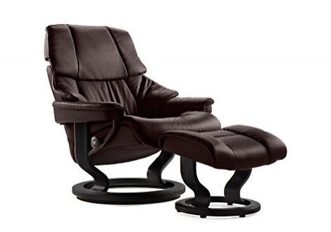 Reno Large Leather Recliner  - Ekornes Stressless