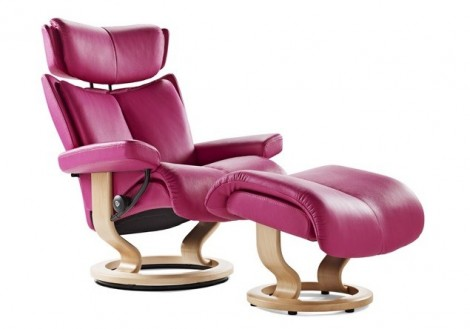 Ekornes Stressless Magic Small Leather Recliner Chair