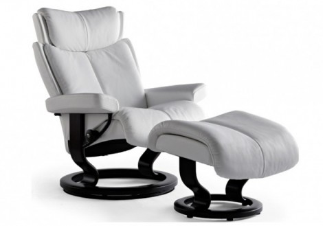 Magic Large Leather Recliner - Ekornes Stressless