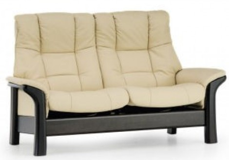 Ekornes Stressless Buckingham Leather Loveseat