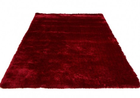 Red Luxury Shag Rug