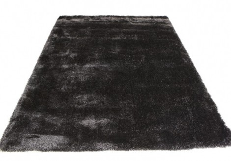 Black Luxury Shag Rug