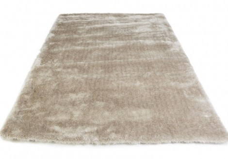 Cream Luxury Shag Rug