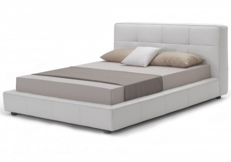 Robbie Queen Bonded Leather Bed