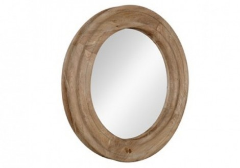 Churchill Round Mirror