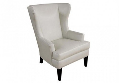 Rossdale Wing back Fabric Chair - Jonathan Louis
