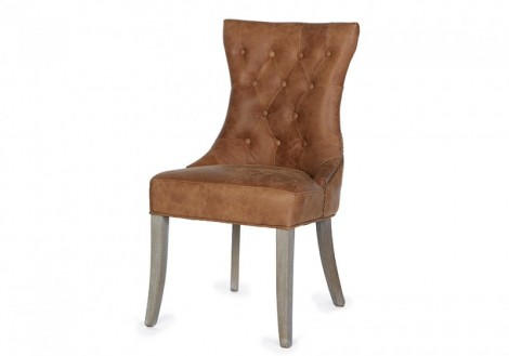 Janet Dining Chair Leather