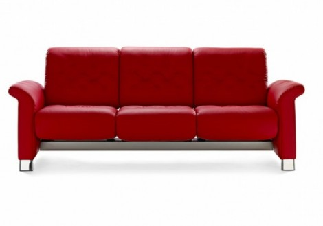 Ekornes Stressless Metropolitan Leather Sofa