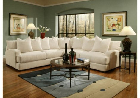 Jonathan Louis Carlin Fabric Sectional