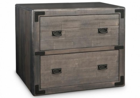 Saratoga Lateral filing Cabinet Solid Maple