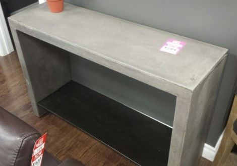 Hugo Concrete Console Table