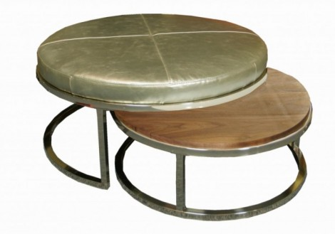 Nesting Cocktail Ottoman