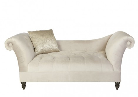 Jonathan Louis Carraway Settee Long Fabric Chair