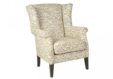 Jonathan Louis Cami Wingback Fabric Chair