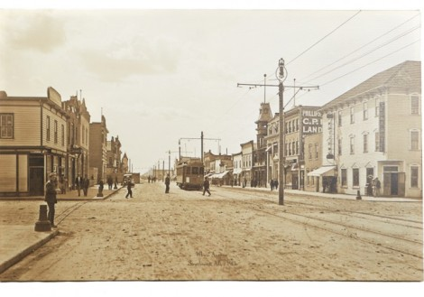 Whyte Ave Strathcona - 1912