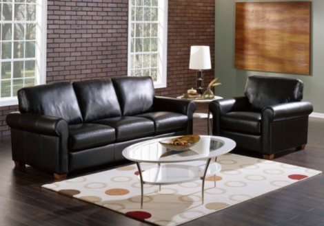 Palliser Vigo Leather Sofa