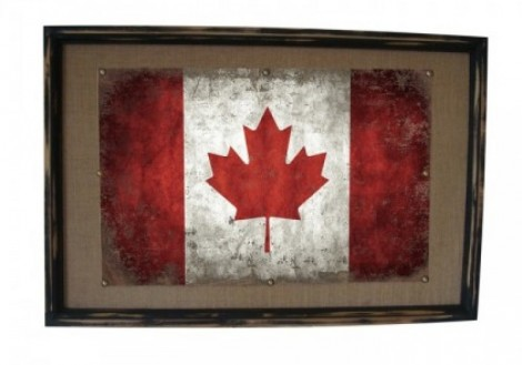 Canadian Flag Framed