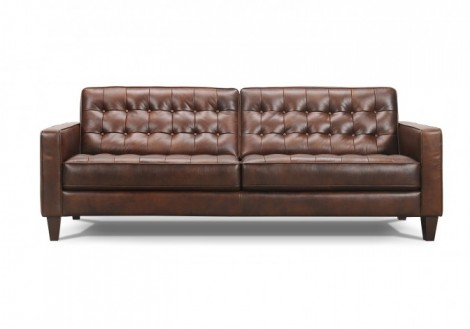 Baron Top Grain Leather Sofa