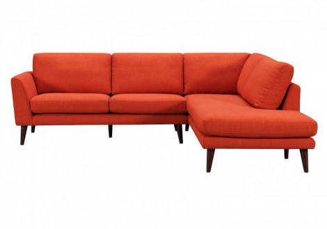 Palliser Inspirations Flippable Chaise Sofa Fabric