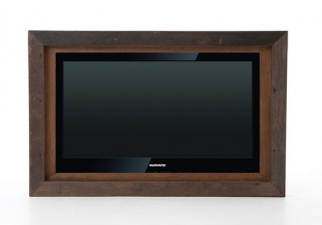 Tye Media TV wall Frame Large Solid Wood