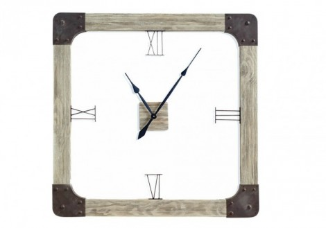 Delta Solid Wood Wall CLock