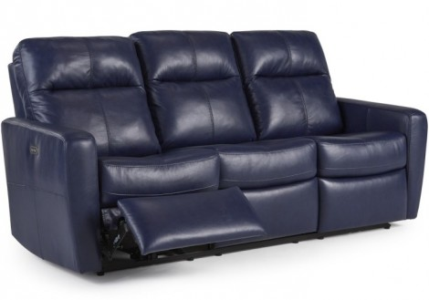 Palliser Cairo Power Recliner Leather Sofa