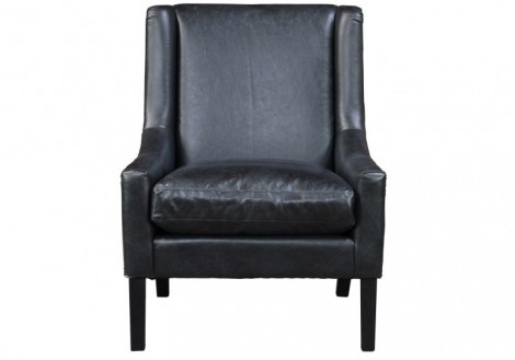 Barcelona Bonded Leather Lounge Chair