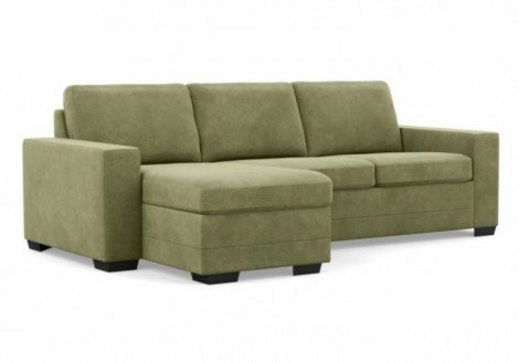 Inspirations Fabric Flippable Chaise Sofa