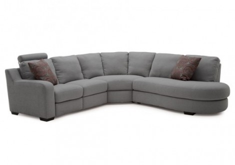 Embrace Fabric Recliner Sectional Sofa