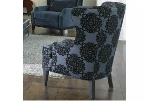 Jonathan Louis Rossdale Wingback Fabric Chair
