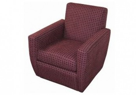 Jonathan Louis Vancouver Swivel Fabric Chair