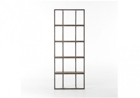 Grainger Bookshelf Four Hands Wood & Metal