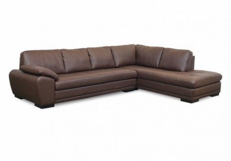 Palliser Kelowna Leather Sectional Sofa