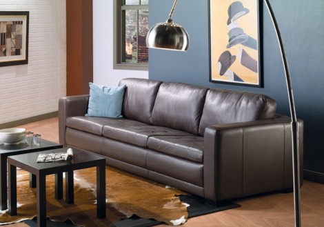 Emperor Leather Sofa
